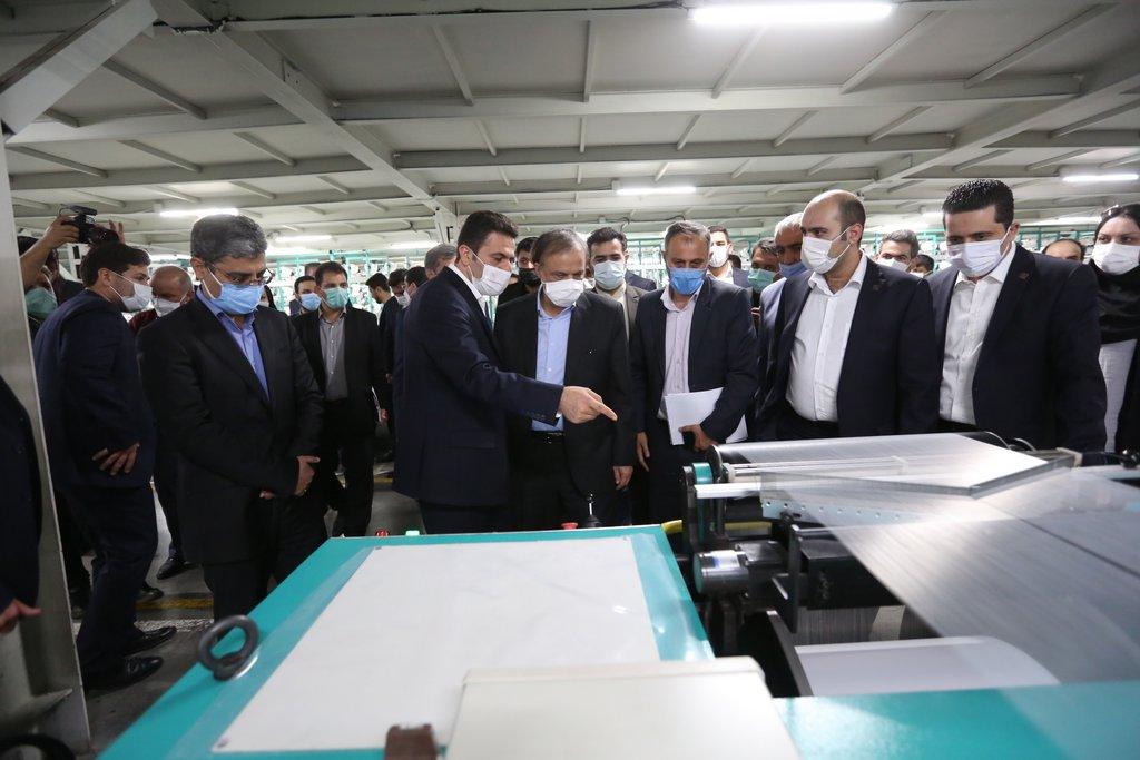 سفر وزیر صمت به شهرستان ورامین و پاکدشت و بازدید و افتتاح چند واحد تولیدی