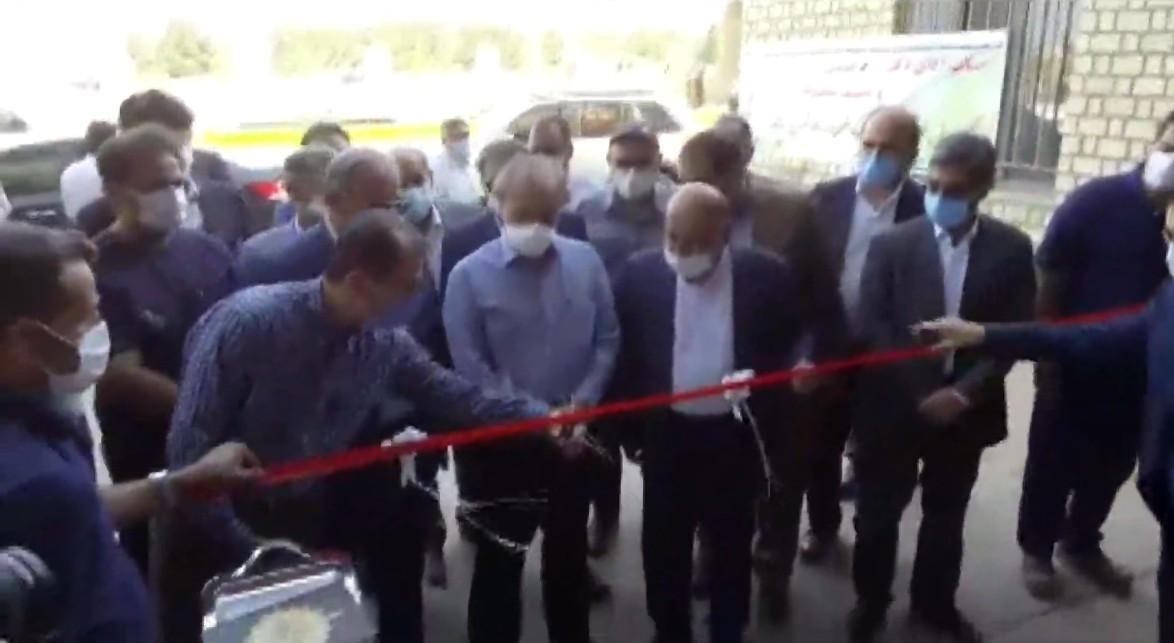 افتتاح واحد کشت و صنعت شریف توسط وزیر صمت در ادامه سفر به اصفهان