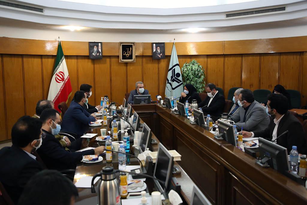جلسه تکریم و معارفه رئیس موسسه مطالعات و پژوهش های بازرگانی
