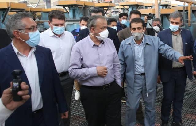 بهره برداری از 6 واحد تولیدی به ارزش 6400 میلیارد ریال در جنوب کرمان